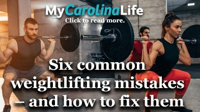 Six common weightlifting mistakes