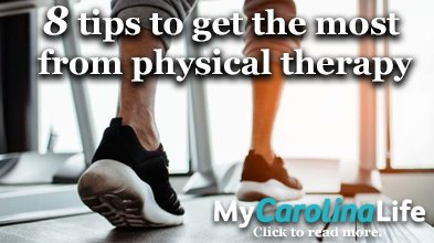 8 tips to get the most from physical therapy