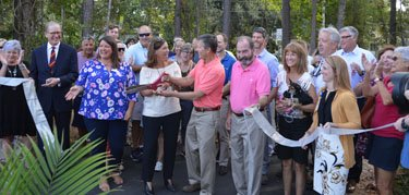 Inlet to Intracoastal Multipurpose Path ribbon cutting