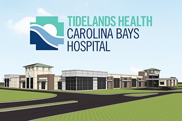 rendering of Tidelands Health Carolina Bays Hospital