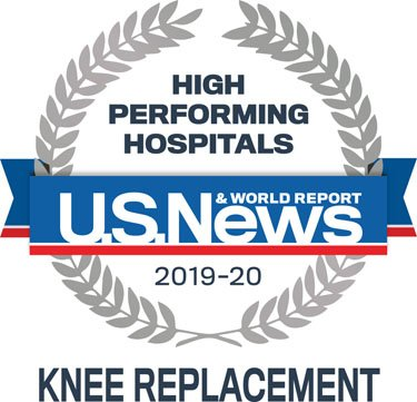 U.S. News & World Report High Performing Hospitals knee replacement