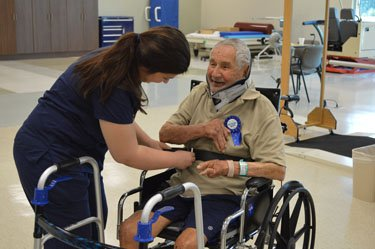 Patient celebrates 100th birthday with party at Tidelands Health