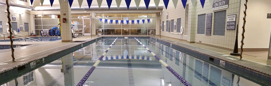 The Tidelands HealthPoint swimming pool.
