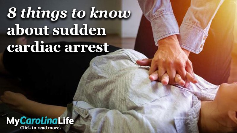 8 things to know about sudden cardiac arrest