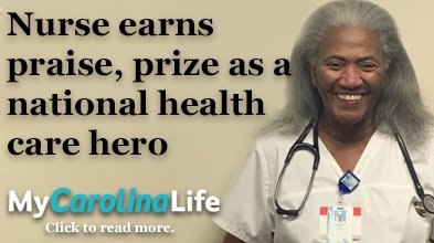 Nurse earns praise as hero