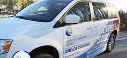 The Tidelands Health driver rehab vehicle.