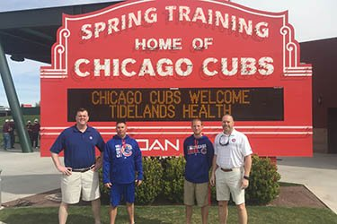 Drs. Swartz and Greer at Spring Training