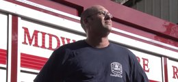 Jim Duley stands tall after Tidelands Health helped him get back into firefighting.