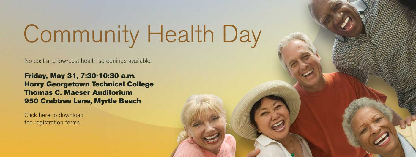 Community Health Day May 31 2019