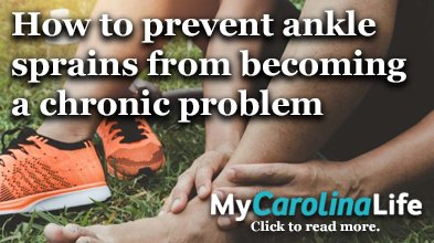 Prevent ankle sprains