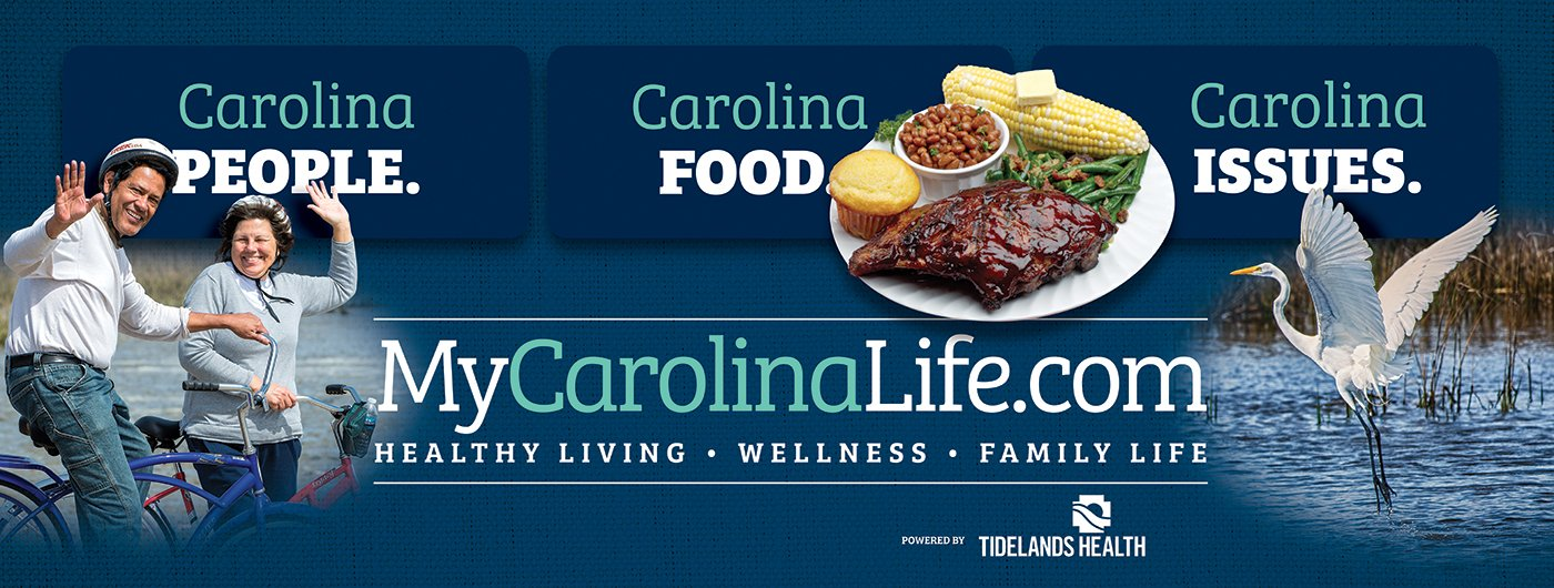 My Carolina Life is a brand new website dedicated to Carolina people, Carolina food and Carolina Issues. Click here to visit MyCarolinaLife.com