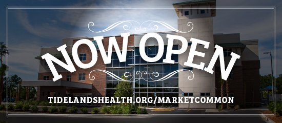 Tidelands Health Medical Park at the Market Common Panel