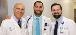Trio of Physicians.