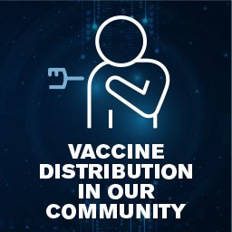 Vaccine distribution in our community