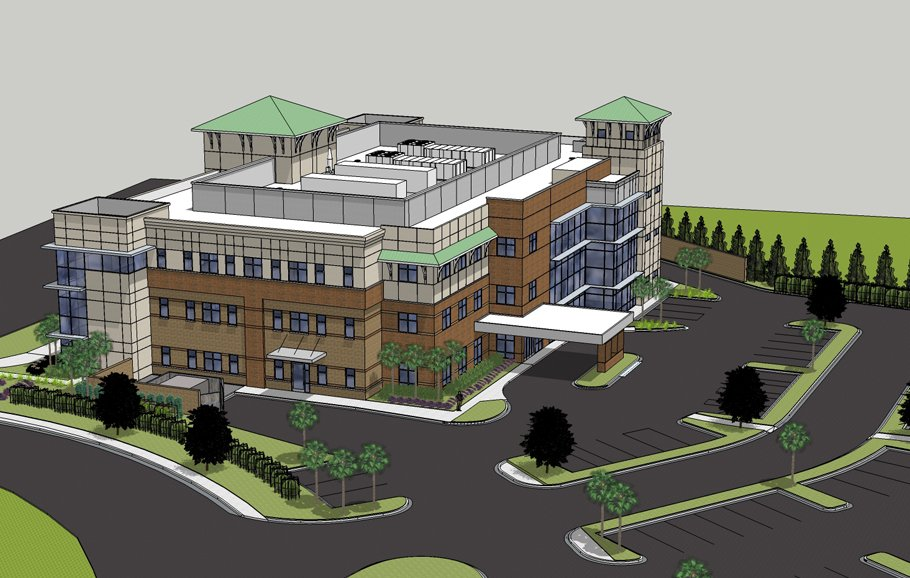 The Medical Park at Market Common rendering