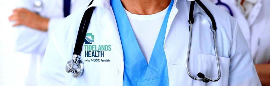 A Tidelands Health physician jacket.