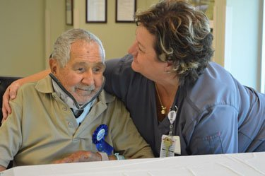 Patient celebrates 100th birthday with party at Tidelands