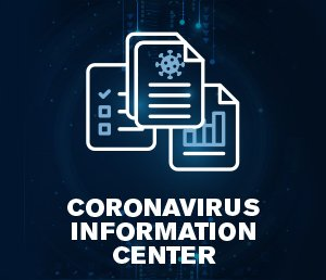 Coronavirus Info Center Panel Button