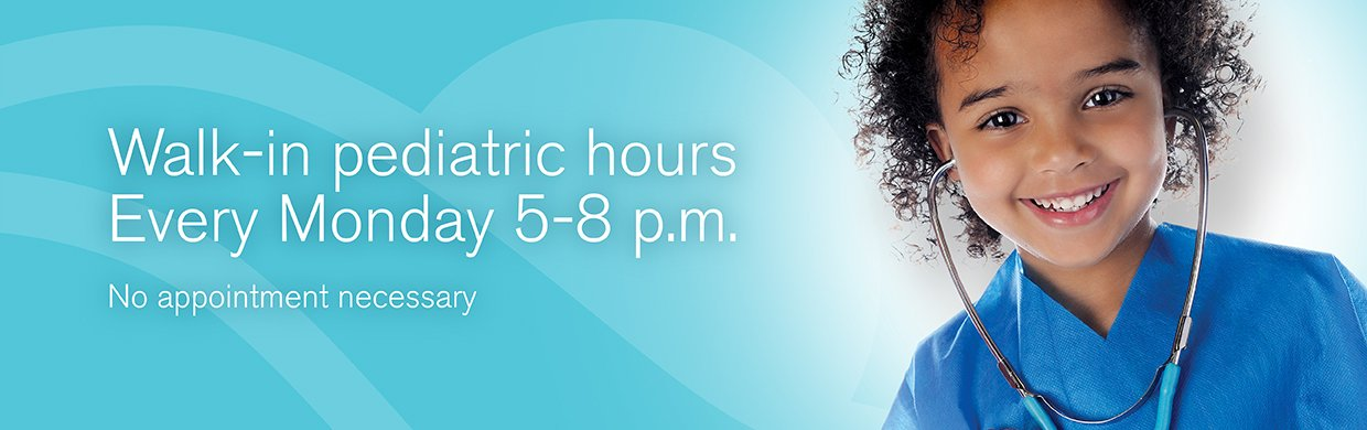 Pediatric Hours Banner