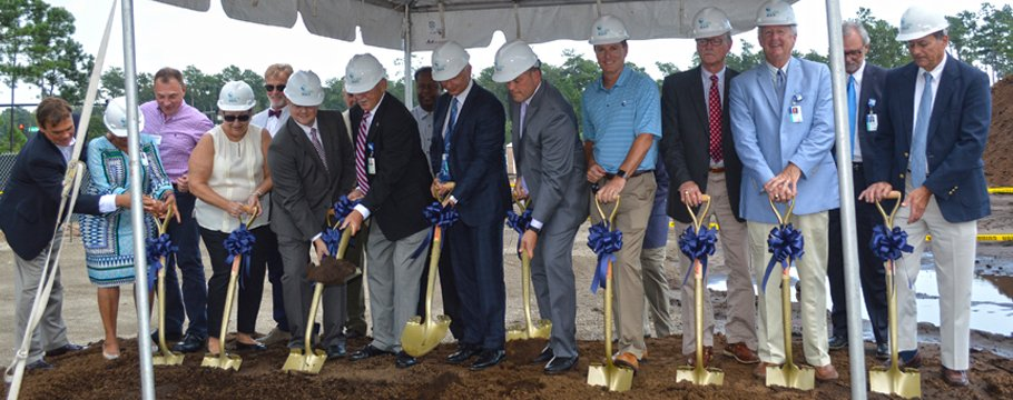 Groundbreaking at the Market Common